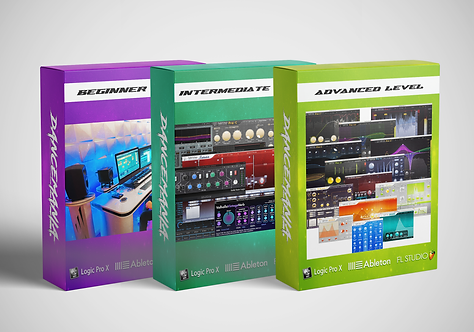 MUSIC PRODUCTION COURSE - PACKAGE 3 // 15 LESSONS