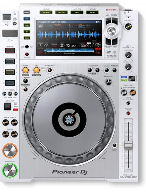 Pioneer DJ CDJ 2000 Nexus 2 White