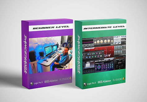 MUSIC PRODUCTION COURSE - PACKAGE 2 // 10 LESSONS