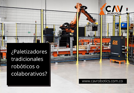 Paletizadores tradicionales roboticos o