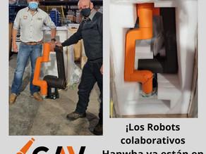 ¡Los Robots colaborativos de Hanwha ya estan en CAV Robotics!