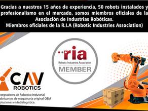 CAV miembro oficial de la RIA