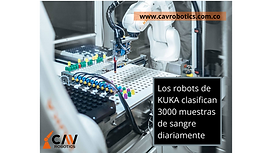 Los robots de KUKA clasifican 3000 muest