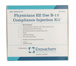 Physicians EZ Use B-12 Compliance Injection Kit