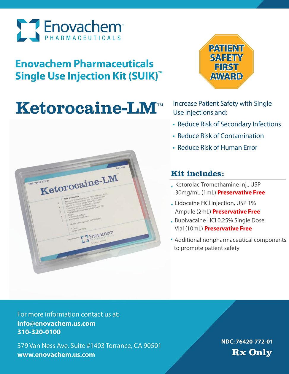 Ketorocaine-LM