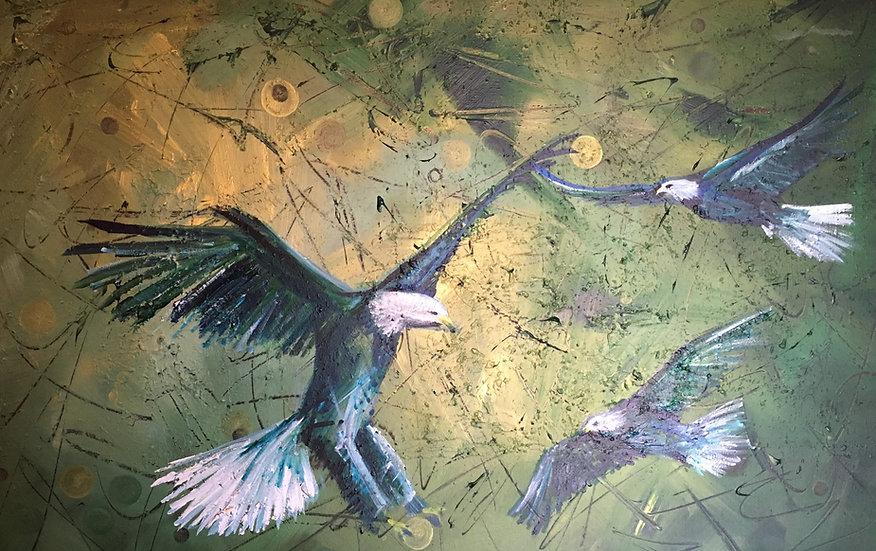 Fellowhsip of Eagles PRINT