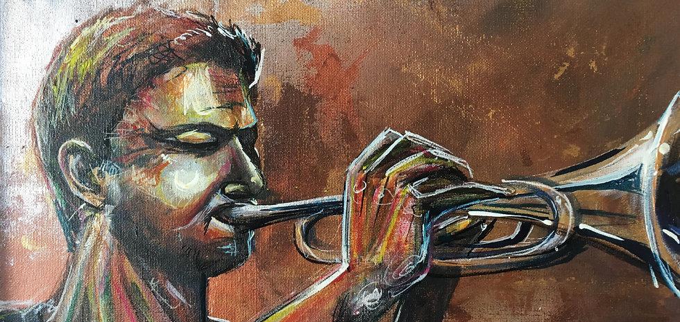 Trumpet ORIGINAL ARTWORK