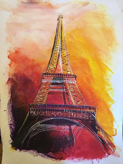 Paris Print A5