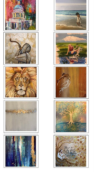 Pack of 40 luxury cards