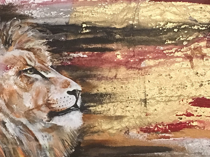 Lion the King A4 print