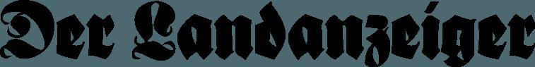 """Logo der Gratiszeitung """"Der Landanzeiger""""."""