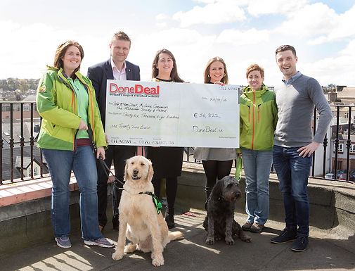 €36,822 donated for March DoneDeal Charity Month
