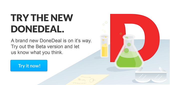 New look DoneDeal is almost ready!
