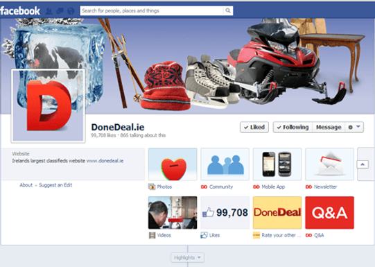 10 ways that Facebook can help you DoneDeal