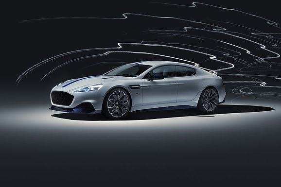 Aston Martin's first all-electric car is here