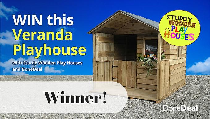 Veranda playhouse competition winner!