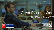 Distilled SCH named 6th best workplace in Ireland