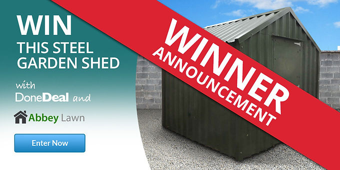 Get Outta Dat Garden Shed – Competition Winner!