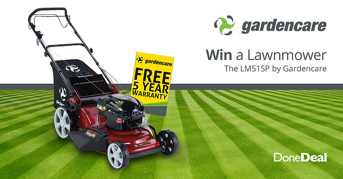 **Competition Closed** Win a Gardencare lawnmower!
