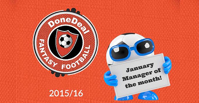 January Fantasy Football Winner!