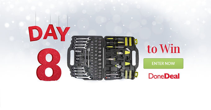 10 days of Christmas – Day 8 is now CLOSED!
