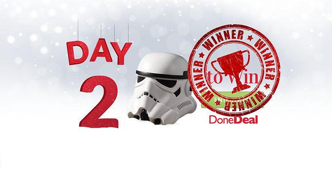 Day 2 Winner! 10 Days of Christmas