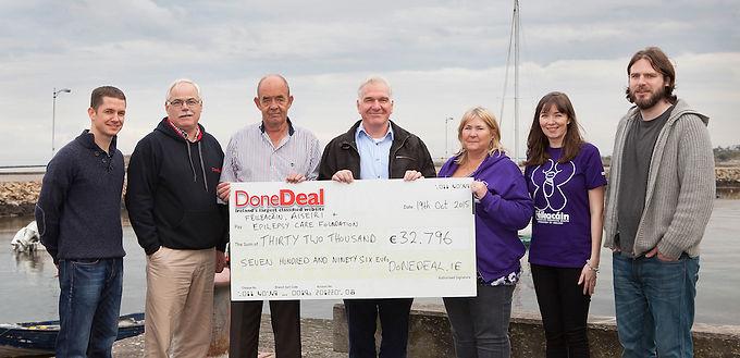 September Charity Month raised €32,796!
