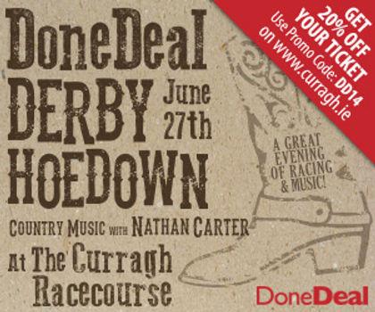 DoneDeal Derby Hoedown ticket Winners!