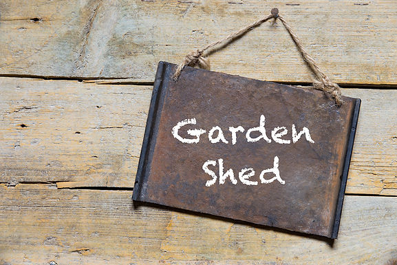 4 tips for sorting out your shed!