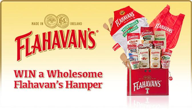 [Now Closed] We've 10 Flahavan's Hampers to be won!