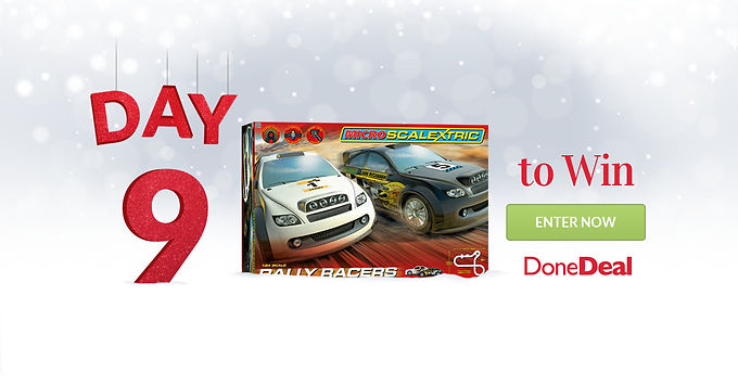 10 days of Christmas – Day 9 is now CLOSED!