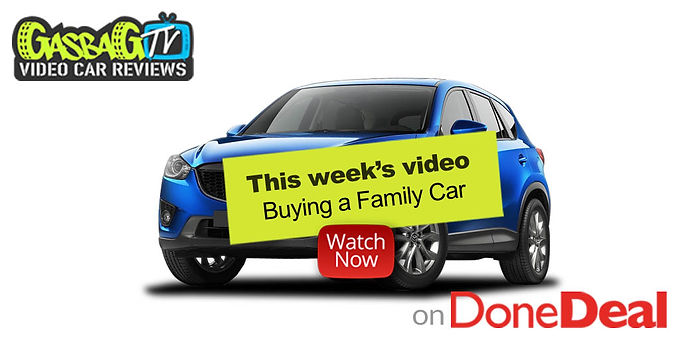 GasbagTV – Top tips for buying a family car!