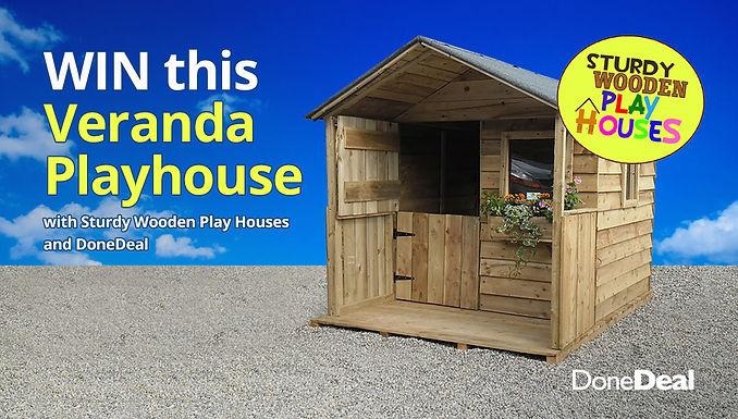 *Closed* Win a beautiful veranda playhouse!