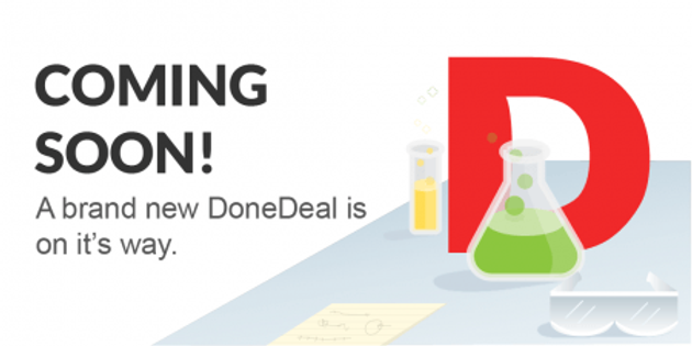 New Look DoneDeal is Coming soon!!