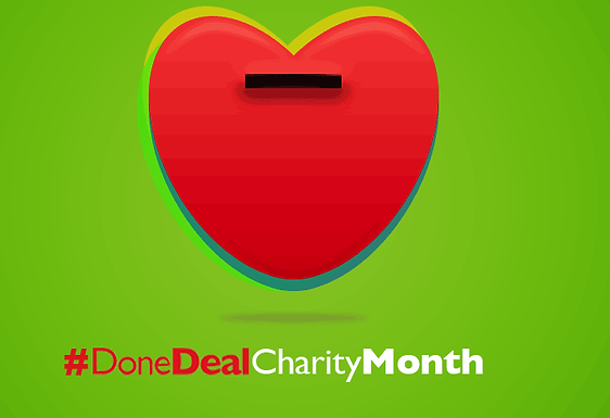 February's DoneDeal Charity Month!