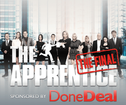 Check us out on the Celebrity Apprentice!