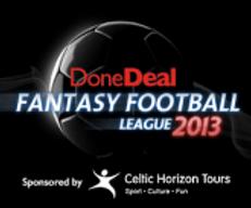 August 2013 DoneDeal Fantasy Football winner!