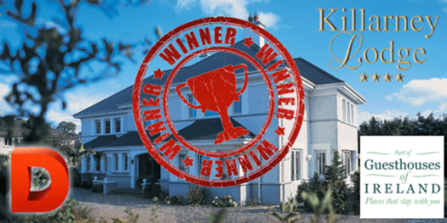 The Winner of our Short Break to Killarney is…