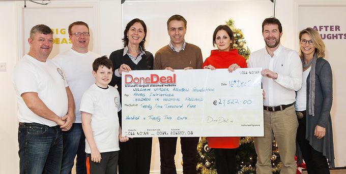 November Charity Month raised €29,522