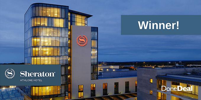 Sheraton Athlone Hotel Competition Winner!
