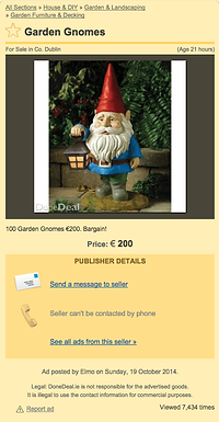 Garden Gnomes – Love/Hate style!