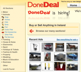 DoneDeal has just got a facelift!