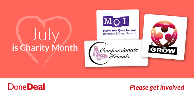 July's Charity Month