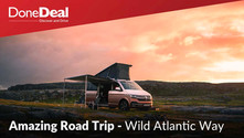 Take a trip along the Wild Atlantic Way in the VW California Ocean