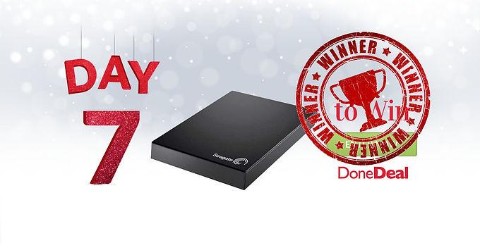 Day 7 Winner! 10 Days of Christmas