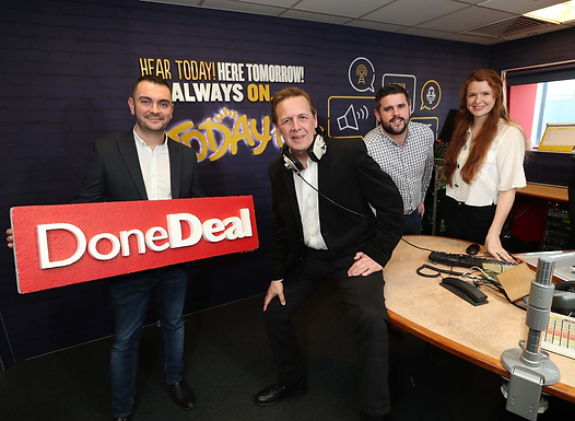 DoneDeal sponsors Traffic & Travel on Today FM