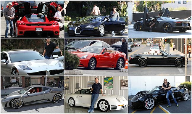 Our Top 10 favourite celebrity cars