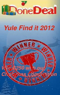 Yule Find it WINNER!