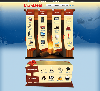 DoneDeal Christmas Shop is here again!