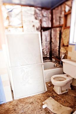 Freshen up boring bathrooms